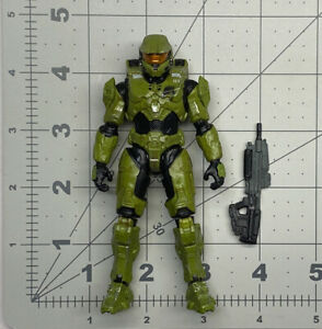 """1/18 or 4"""" scale Jazwares Infinite series World of Halo Spartan Master Chief 02"""