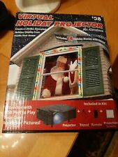 Mr. Christmas Virtual Holiday Projector w/Tripod, & Remote