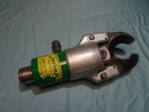 Greenlee 750 Hydraulic Cable Cutter- head only