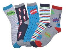 Novelty/Cartoon Socks (2-16 Years) for Boys