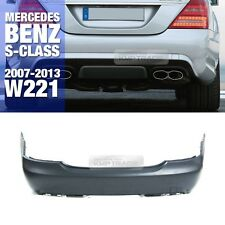 S63 S65 AMG Style Rear Bumper Without PDC For Mercedes Benz 2007-13 S Class W221