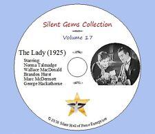 "DVD ""The Lady"" (1925) Frank Borzage,Norma Talmadge,Marc McDermott, Classic Drama"