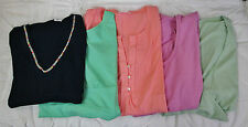 Soft Surroundings Variety Blouse Bundle (5 XS Tops) NEW