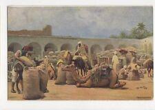 Caravanserai North Africa Vintage Postcard 240a