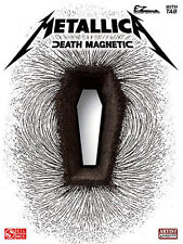 METALLICA - DEATH MAGNETIC EASY GUITAR TAB SONG BOOK