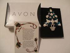 2011  Avon  Collectible  Christmas Tree  Pin  NIB