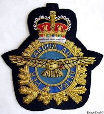 Canada RCAF Royal Canadian Forces Air Force Air Operation QC Blazer Crest Badge