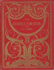 Livre ancien livre de prix la famille Chesterpar P J Stahl book