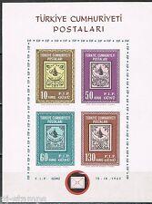 Turkije Türkiye 1963 blok 10 Istanbul 63 Postfris MNH cat waarde € 10