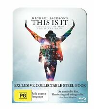 Michael Jackson's - This Is It Blu-ray - Exclusive Collectible Steel Book