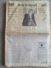 The Daily Telegraph Newspaper 6th August 1983. Gaddafi. IRA trial etc