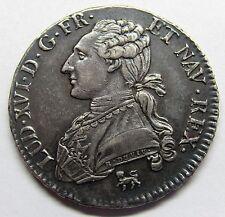 - 1/2 Ecu aux branches d'olivier - Louis XVI - 1792 A - Qualité
