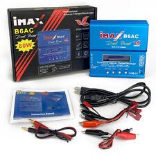 B6 AC Battery Balance Charger 80W LCD Digital RC Lipo LiFe NiMh NiCD
