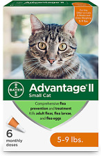 Flea Prevention for Small Cats, 5-9 lbs