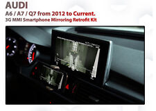 Audi C7 A6 3G MMi+  Smarthphone AirPlay GPS MirrorLink iOS android Retrofit Kit