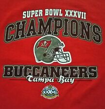 Super Bowl XXXVII Champions Tampa Bay Buccaneers T-Shirt By Lee!