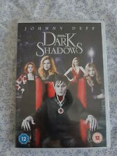 Dark Shadows DVD Johnny Depp, Burton (DIR) cert 12