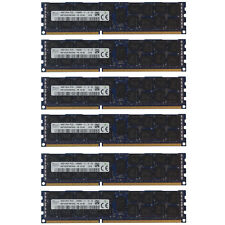 96GB Kit 6x 16GB HP Proliant ML370 SL160S SL170S DL180 DL170H G6 Memory Ram
