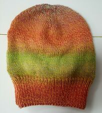 Slouch Beanie Cap Hat. Hand made. Brand new. 100% Wool.