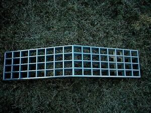 OEM Cadillac Coupe deVille Upper Grille 74 1974