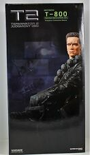 TERMINATOR 2 JUDGEMENT DAY EXCLUSIVE T-800 MINIGUN STATUE SIDESHOW 150/750