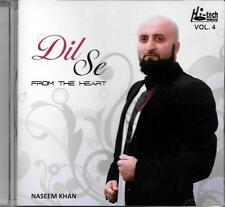 DIL SE - FROM THE HEART - NASEEM KHAN - VOL 4 - NEW NAAT CD - FREE UK POST