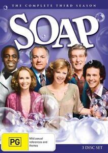 N3 BRAND NEW SEALED Soap : Season 3 (DVD, 2016, 3-Disc Set)