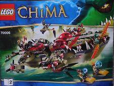 LEGO Legends of Chima Craggers Croc-Boot Zentrale (70006) mit OVP+BA