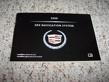2009 Cadillac SRX Factory Navigation System Owner's Owners User Manual Guide