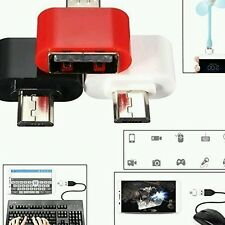 Mini USB 2.0 Micro USB OTG Adapter - Attach Pendrive Keyboard To Mobile