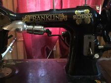 Antique Sears Franklin Rotary Sewing Machine and Floral Case mod.6193