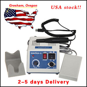 Dental Lab Marathon Electric Micromotor Polishing N3+35K RPM Motor Handpiece Kit