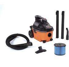 Ridgid Wet Dry Vacuum Blower Port Portable Cleaner Shop Vac 4 Gallon 5.0 Peak Hp