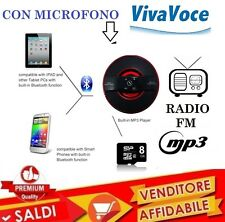 CASSA BLUETOOTH CON MICROFONO VIVAVOCE RADIO FM SD MP3 SMARTPHONE SAMSUNG APPLE