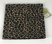 FOWNES Women's Stole Scarf Leopard Print NWT