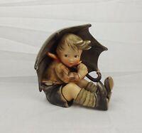 Goebel Hummel Umbrella Boy Large Porcelain Figure c1960's