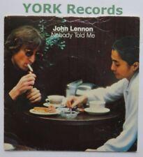 """John Lennon Nobody Told Me-excellent état 7"""" single Polydor POSP 700"""