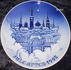 1995 BING & GRONDAHL / ROYAL COPENHAGEN PIATTO DI NATALE TOP PRIMA SCELTA