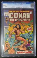 Conan the Barbarian #1 Marvel 1970 CGC 9.6 White Pages Origin & 1st Appearance