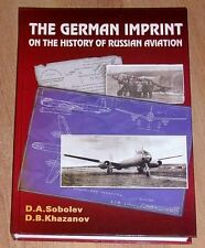 OTH-213 The German Imprint on the History of Russian Aviation hardcover book