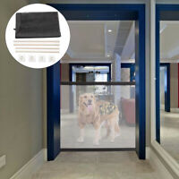 Portable Magic Mesh Pet Dog Cat Gate Door Barrier Safe Nets Guard Install Fence