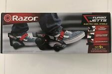 Razor Turbo Jetts Electric Heel Wheels Electric Roller Skates Battery Powered