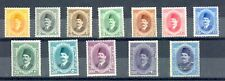 EGYPT - 1923 King FOUAD complete set Sc# 92-103 from 1 M to 1 Pound MH**