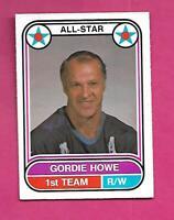 RARE 1975-76 OPC WHA # 66 AEROS GORDIE HOWE AS EX+  CARD (INV# D2159)