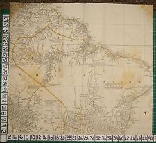 1782 MAP BRASIL BRAZIL RIVERS AMAZON MADEIRA  ROBERT SAYER ~ THOMAS KITCHIN