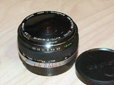 OLYMPUS OM ZUIKO 16mm F3.5 FISH EYE LENS