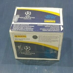 Panini Champions League 2014/2015  Box 50 Bags Packets