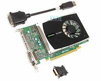 DELL Nvidia Quadro 2000 1GB GDDR5 PCI E DVI DISPLAYPORT Video Graphics Card