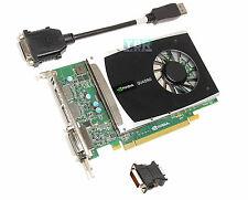 Nvidia Quadro 2000 1GB GDDR5 PCI E DVI DISPLAYPORT Video Graphics Card DELL