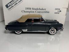 Danbury Mint 1950 Studebaker Convertible *w/ Luggage